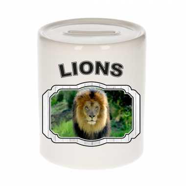 Dieren leeuw spaarpot lions/ leeuwen spaarpotten kinderen