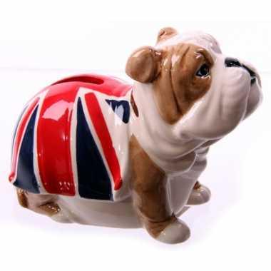 Kinder  Bulldog spaarpotje Union Jack vlag