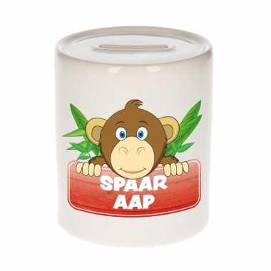 Kinder cadeau spaarpot apen