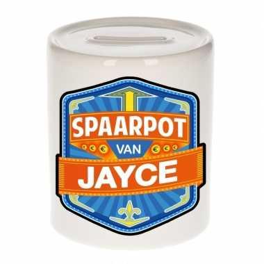 Kinder cadeau spaarpot een jayce