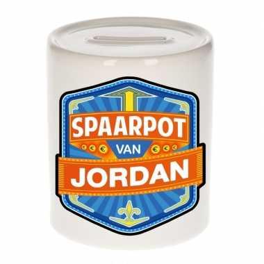 Kinder cadeau spaarpot een jordan