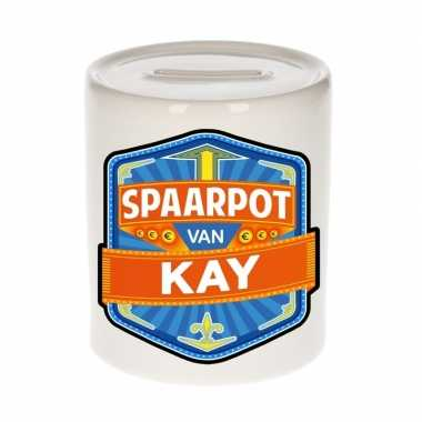 Kinder cadeau spaarpot een kay