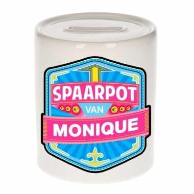 Kinder cadeau spaarpot een monique
