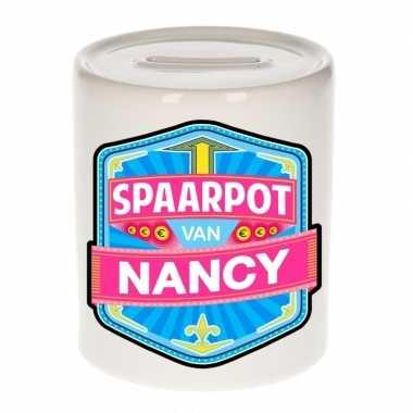 Kinder cadeau spaarpot een nancy