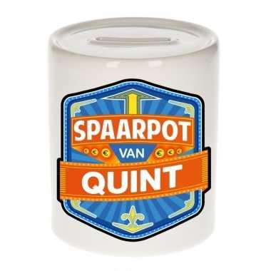 Kinder cadeau spaarpot een quint