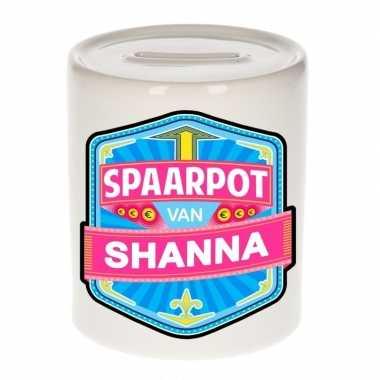 Kinder cadeau spaarpot een shanna