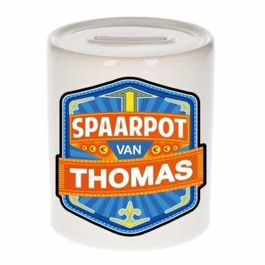 Kinder cadeau spaarpot een thomas