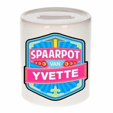 Kinder cadeau spaarpot een yvette