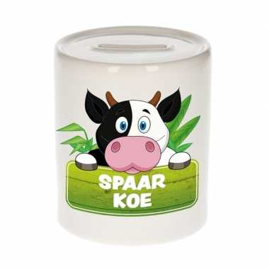 Kinder cadeau spaarpot koe