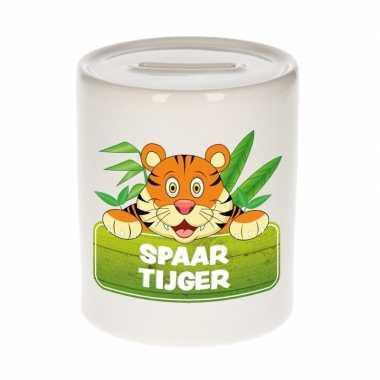 Kinder cadeau spaarpot tijger
