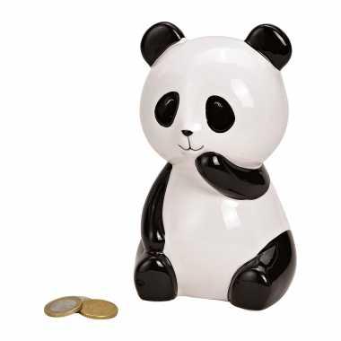 Kinder dieren spaarpot zwarte/witte panda