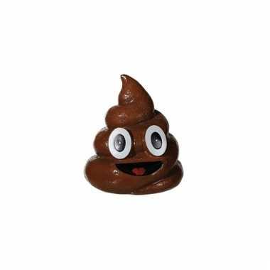 Kinder emoji spaarpot poep