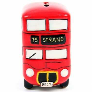 Kinder  Engelse bus spaarpot keramiek
