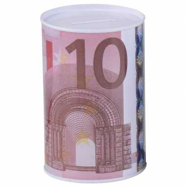 Kinder geld spaarpot euro biljet