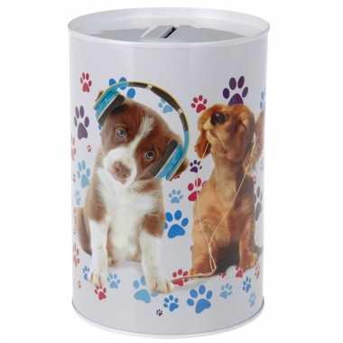 Kinder honden koptelefoon spaarpot