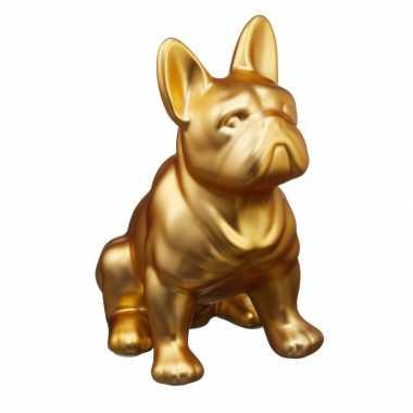 Kinder honden spaarpot goud