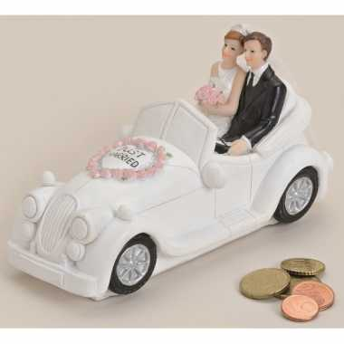 Kinder  Just married trouwauto spaarpot