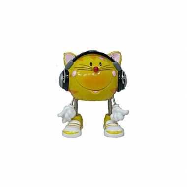 Kinder  Kat koptelefoon spaarpot