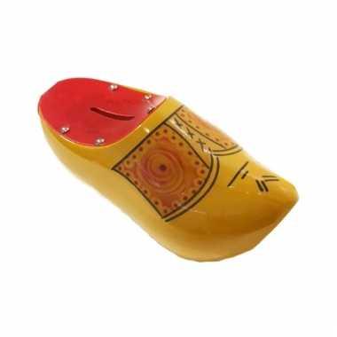 Kinder klomp spaarpot geel / rood