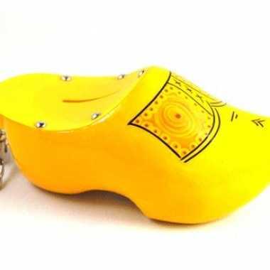 Kinder  Klomp spaarpot geel