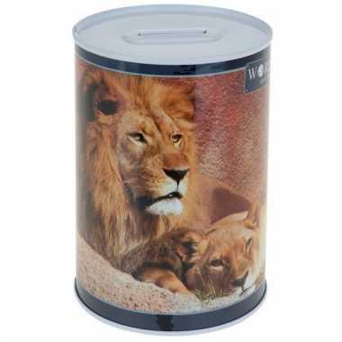 Kinder leeuw spaarpot