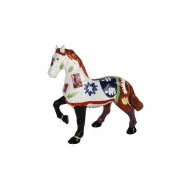 Kinder  Meisjes spaarpot een wit paardje