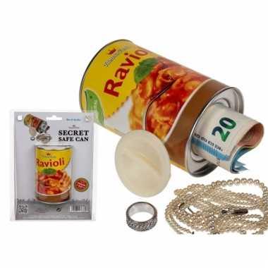 Kinder nepblik ravioli pasta spaarpot
