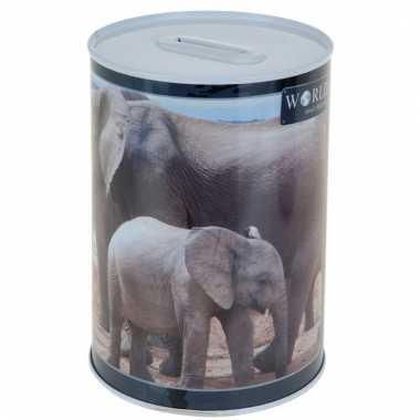 Kinder olifant spaarpot