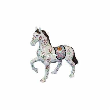 Kinder  Paarden spaarpot wit
