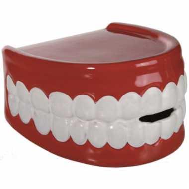 Kinder  Pensioen kado tandarts spaarpot gebit