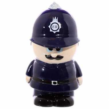 Kinder  Politieman spaarpot keramiek