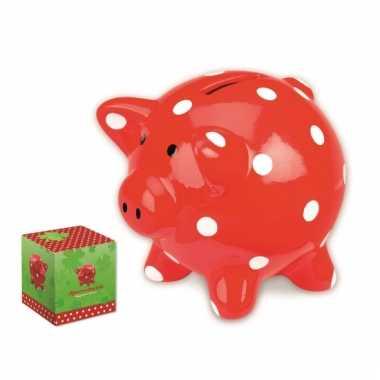Kinder  Rode varken spaarpotten