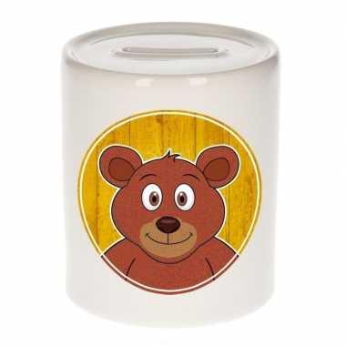 Kinder spaarpot beren print kids