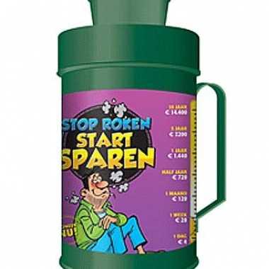 Kinder  Spaarpot collectebus stop roken