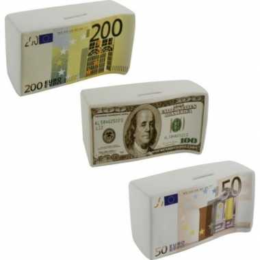 Kinder spaarpot euro biljet .