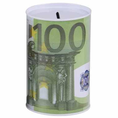 Kinder spaarpot euro biljet