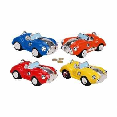 Kinder  Spaarpot gekleurde auto