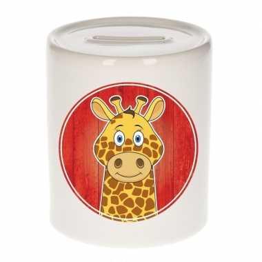 Kinder spaarpot giraffen print kids