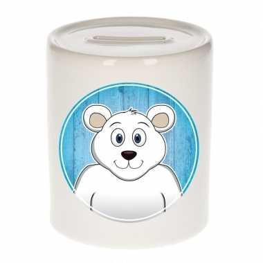 Kinder spaarpot ijsberen print kids