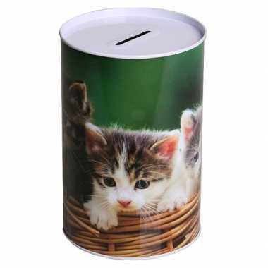 Kinder  Spaarpot katten type