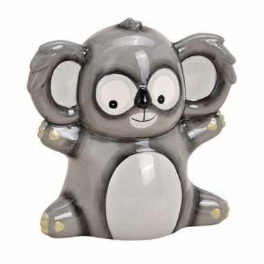 Kinder spaarpot koala grijs