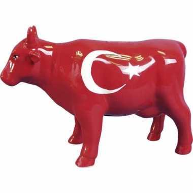 Kinder  Spaarpot koe Turkse vlag