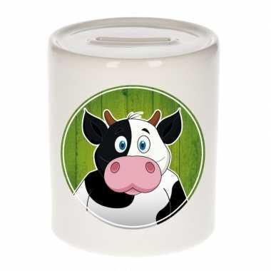 Kinder spaarpot koeien print kids