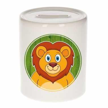 Kinder spaarpot leeuwen print kids