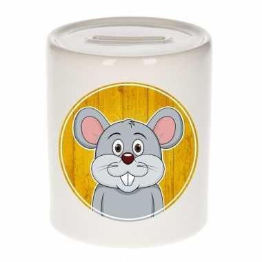 Kinder spaarpot muizen print kids