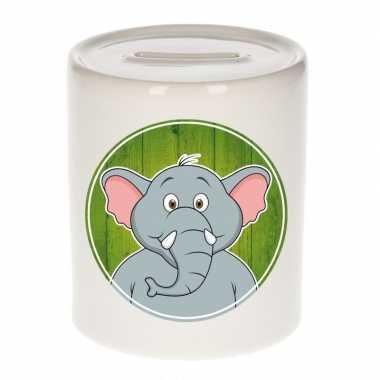 Kinder spaarpot olifanten print kids