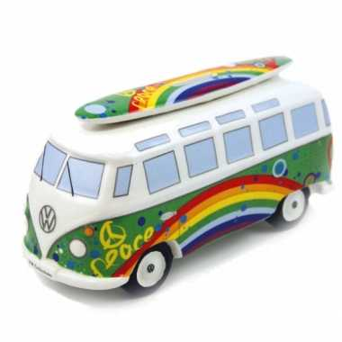 Kinder  Spaarpot peace VW bus