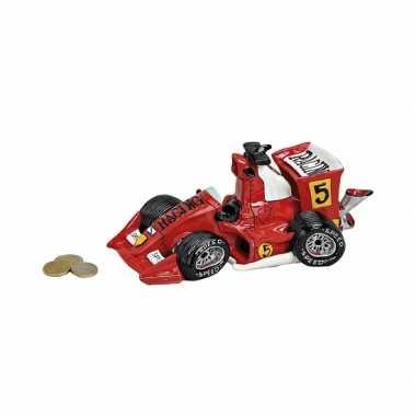 Kinder spaarpot raceauto