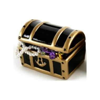 Kinder spaarpot schatkist juwelen