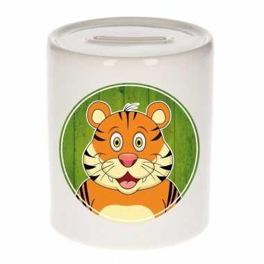 Kinder spaarpot tijgers print kids